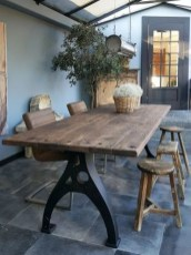 Cool Industrial Table Design Ideas 19