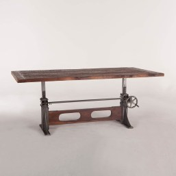Cool Industrial Table Design Ideas 24