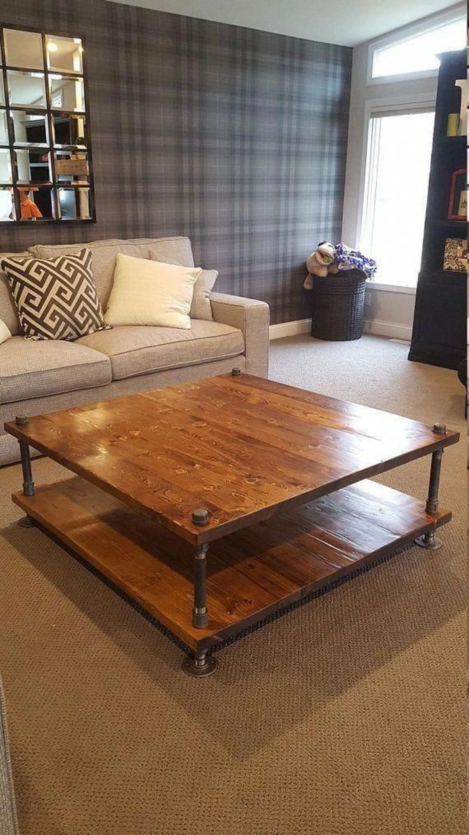 Cool Industrial Table Design Ideas 25