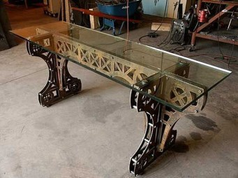 Cool Industrial Table Design Ideas 27