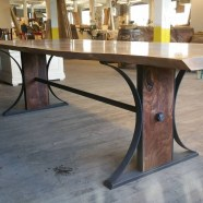 Cool Industrial Table Design Ideas 38