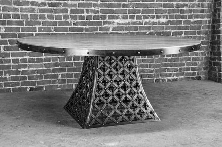Cool Industrial Table Design Ideas 46