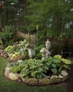 Fantastic Front Yard Rock Garden Ideas 14