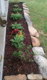 Fantastic Front Yard Rock Garden Ideas 28