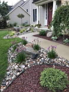 Fantastic Front Yard Rock Garden Ideas 46