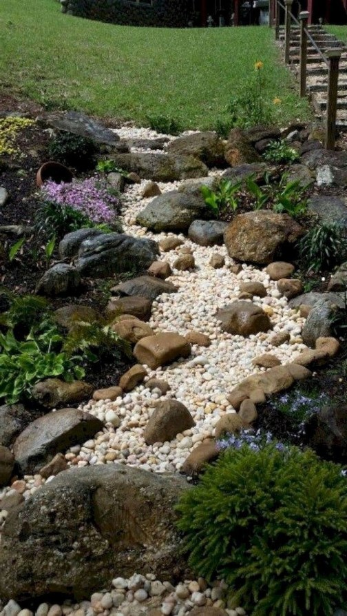 Fantastic Front Yard Rock Garden Ideas 55