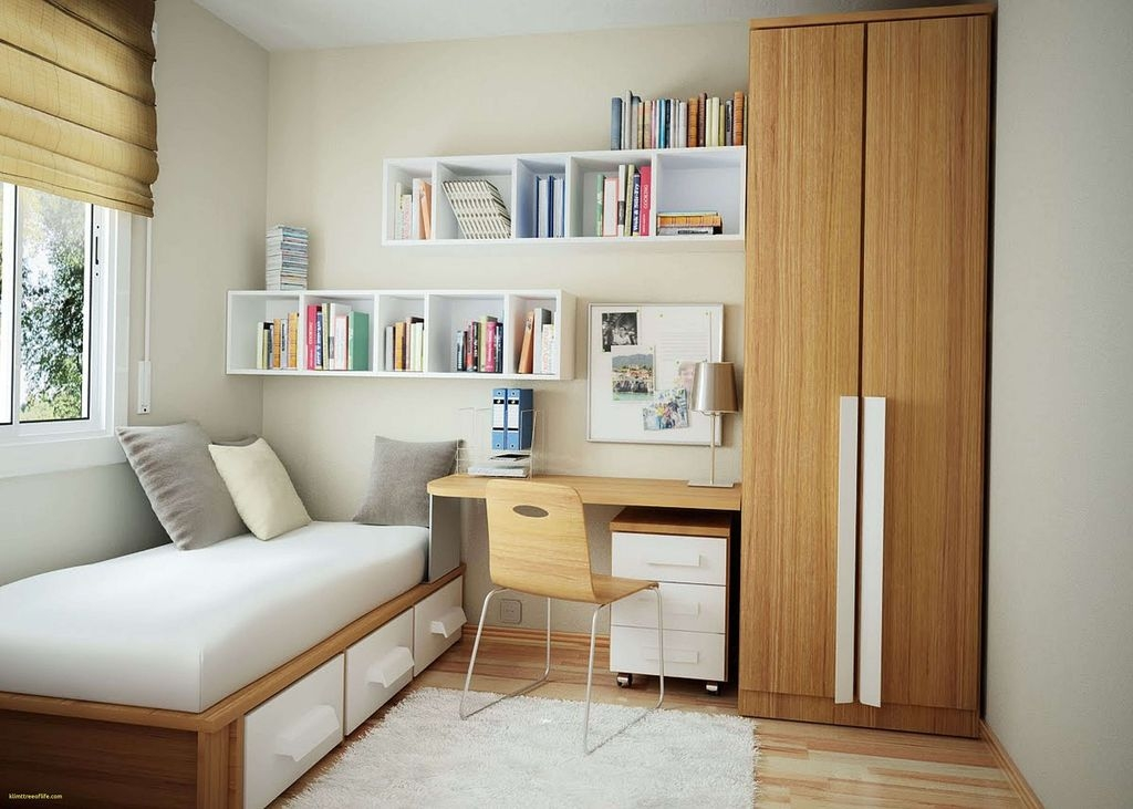 20+ Minimalist Bedroom Decorating Ideas For Small Spaces - Coodecor - Bedroom Decor