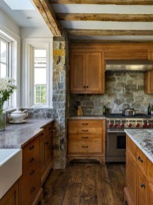 Stunning Country Farmhouse Design Ideas For Kitchen 14