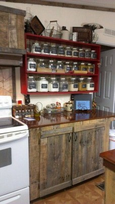 Stunning Country Farmhouse Design Ideas For Kitchen 26