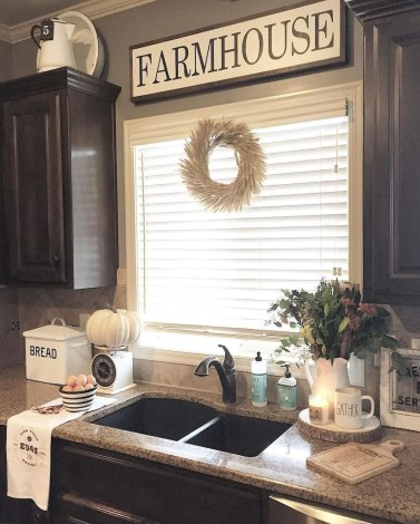 Stunning Country Farmhouse Design Ideas For Kitchen 47