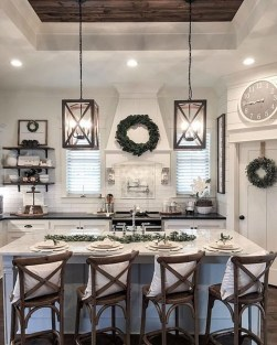 Stunning Country Farmhouse Design Ideas For Kitchen 49