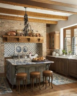 Stunning Country Farmhouse Design Ideas For Kitchen 52