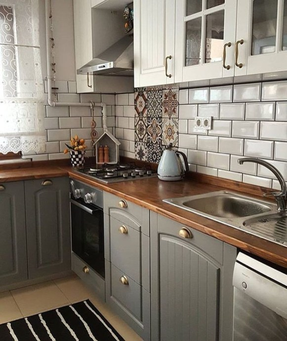 Stunning Country Farmhouse Design Ideas For Kitchen 55