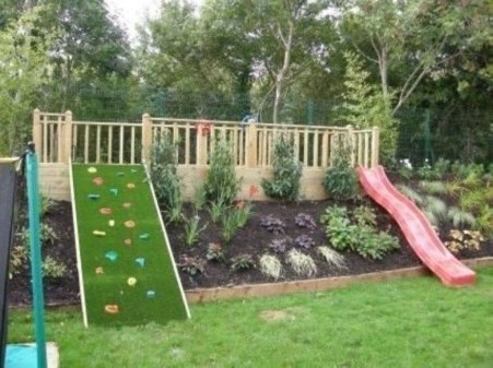 Awesome Frontyard Garden Design Ideas For Kids Playground Playground 34