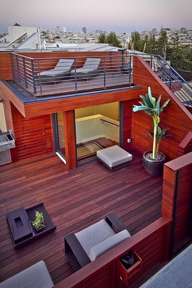 Cool Terrace Design Ideas 18