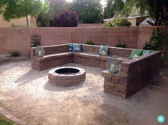 Creative Build Round Firepit Area Ideas For Summer Nights 07