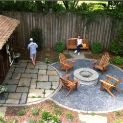 Creative Build Round Firepit Area Ideas For Summer Nights 09