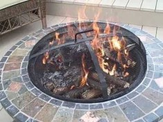 Creative Build Round Firepit Area Ideas For Summer Nights 32