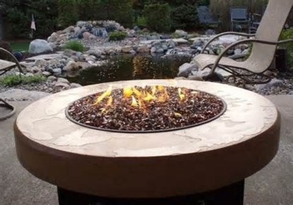 Creative Build Round Firepit Area Ideas For Summer Nights 40