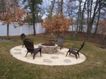 Creative Build Round Firepit Area Ideas For Summer Nights 41