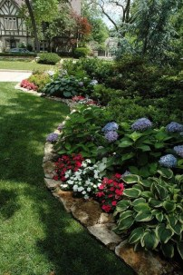 Fancy Garden Bed Borders Ideas For Vegetable And Flower 21