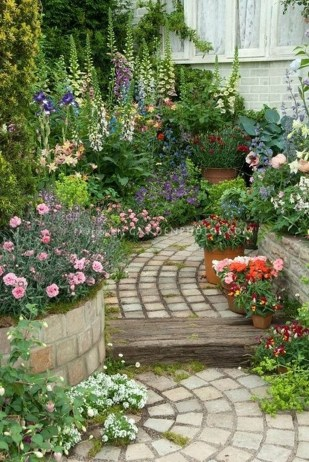 Fancy Garden Bed Borders Ideas For Vegetable And Flower 35