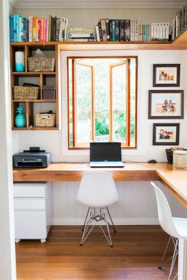 Lovely Small Home Office Ideas 18