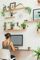 Lovely Small Home Office Ideas 21