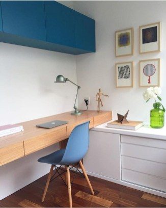 Lovely Small Home Office Ideas 30