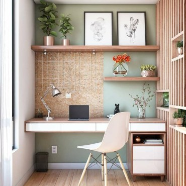 Lovely Small Home Office Ideas 35