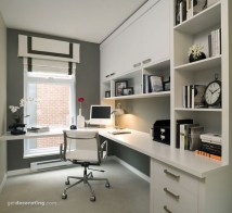Lovely Small Home Office Ideas 37