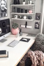 Lovely Small Home Office Ideas 46