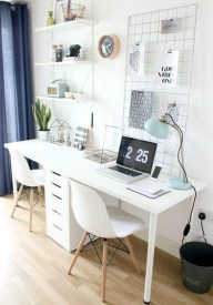 Lovely Small Home Office Ideas 57
