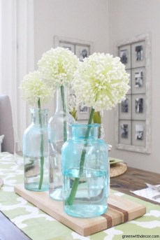 Unordinary Summer Centerpiece Ideas For Home 38