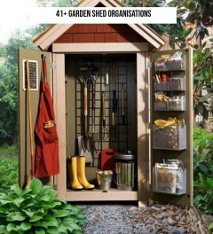 Adorable Garden Shed Organisations Ideas For Garden Looks Modern 51