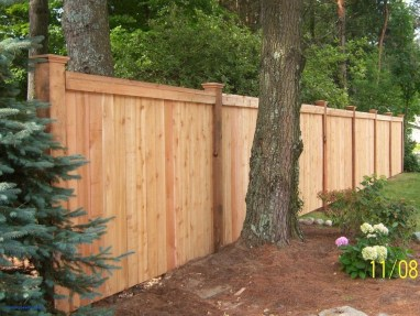 Charming Privacy Fence Ideas For Gardens 14