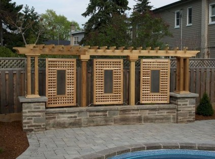 Charming Privacy Fence Ideas For Gardens 42