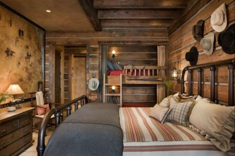 Comfy Wooden Cabin Bedroom Design Ideas For Summer Holiday 03