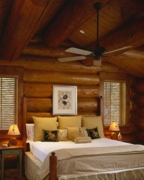 Comfy Wooden Cabin Bedroom Design Ideas For Summer Holiday 15