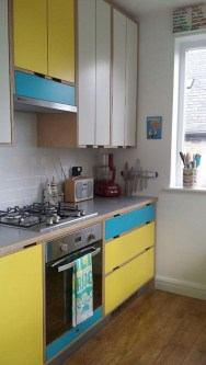 Cool Colorful Kitchen Decor Ideas For Summer 10