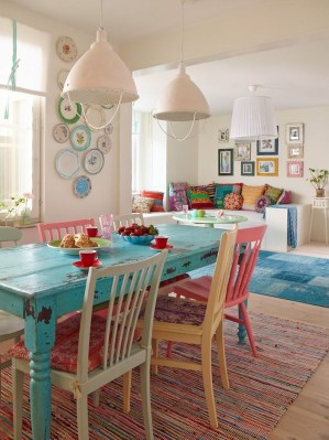 Cool Colorful Kitchen Decor Ideas For Summer 26
