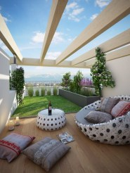 Cozy Home Terrace Design Ideas For Summer To Try Nowaday 15