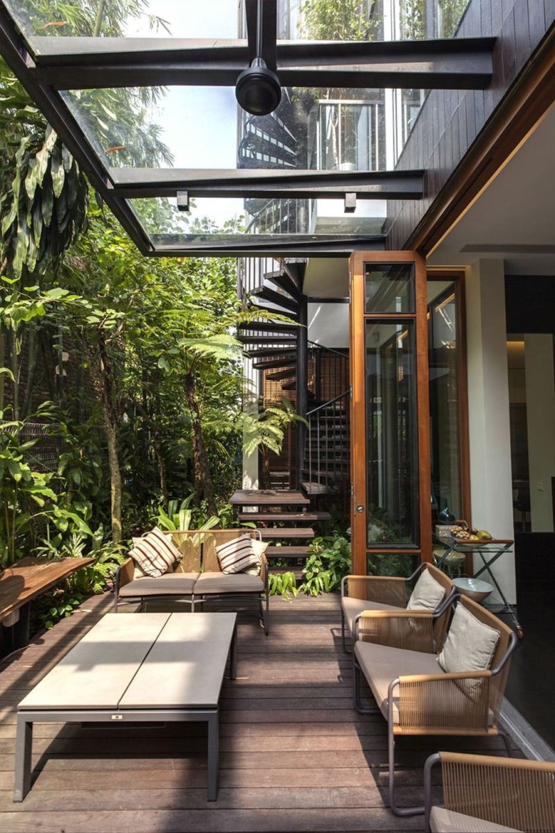 Cozy Home Terrace Design Ideas For Summer To Try Nowaday 35