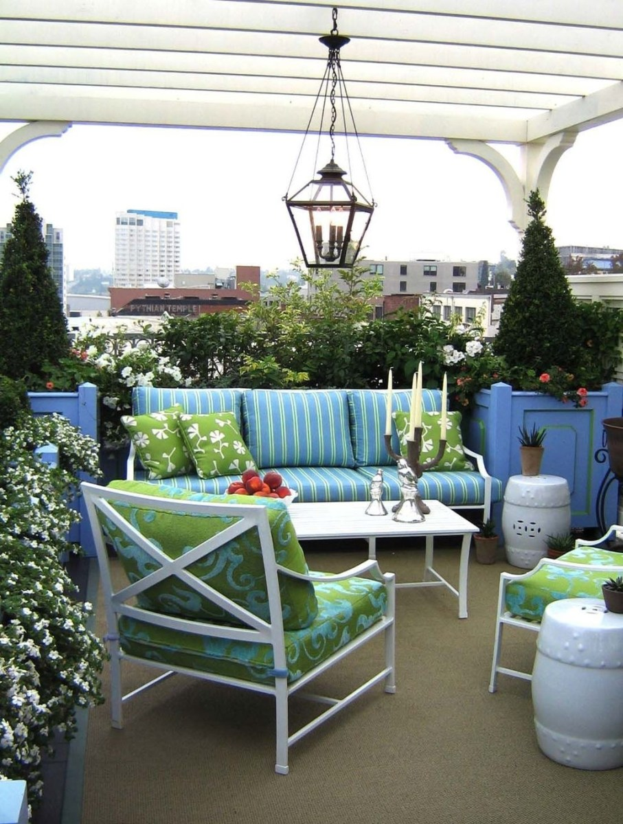 Cozy Home Terrace Design Ideas For Summer To Try Nowaday 37
