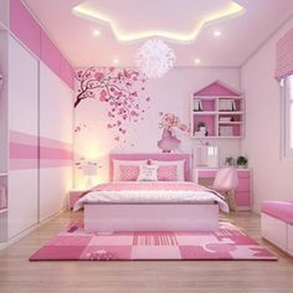 30+ Cute Teen Girl Bedroom Design Ideas You Need To Know ... on Room Decor Ideas For Teen Girls  id=65459