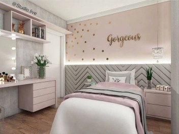 Cute Teen Girl Bedroom Design Ideas You Need To Know 30