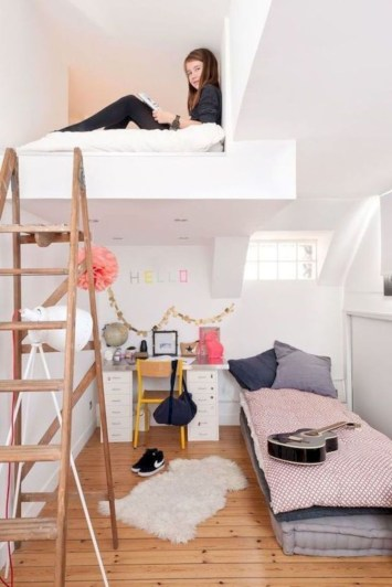 Cute Teen Girl Bedroom Design Ideas You Need To Know 32