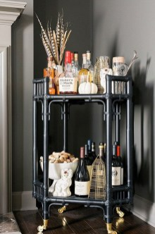 Elegant Mini Bar Design Ideas That You Can Try On Home 02