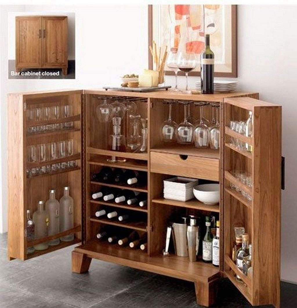 Elegant Mini Bar Design Ideas That You Can Try On Home 11