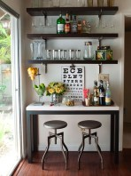 Elegant Mini Bar Design Ideas That You Can Try On Home 42